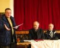 Acțiune de informare la întrunirea publică din Vîrghiș - 21 februarie 2013.