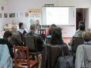 Acțiuni de informare în localitățile regiunii Alutus - 19 întălniri între 18 septembrie - 13 noiembrie 2014.